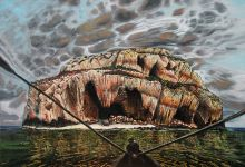 Razlomljenost misli / Fragmentation of thoughts 2009. ulje na platnu / oil on canvas 100 x 70 cm privatno vlasništvo / private collection